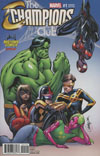 Champions (Marvel) Vol 2 #1 Cover B Midtown Exclusive J Scott Campbell Color Variant Cover (Marvel Now Tie-In)