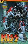 KISS Vol 3 #1 Cover B Midtown Exclusive Jim Balent Variant Cover