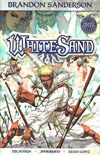 Brandon Sandersons White Sand Vol 1 HC Signed Edition
