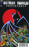 Batman Teenage Mutant Ninja Turtles Adventures #1 Cover G DF Exclusive Top Secret Variant Cover
