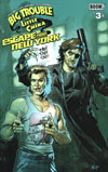 Big Trouble In Little China Escape From New York #3 Cover B Variant Eric Powell Subscription Cover