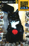 Bloodshot USA #3 Cover D Variant Valiant Cat Cosplay Cosplay