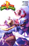Mighty Morphin Power Rangers (BOOM Studios) #10 Cover A Regular Jamal Campbell Cover