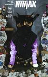 Ninjak Vol 3 #22 Cover C Variant Valiant Cat Cosplay Cover