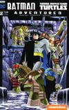 Batman Teenage Mutant Ninja Turtles Adventures #2 Cover B Variant Rick Burchett Subscription Cover