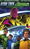 Star Trek Green Lantern Vol 2 Stranger Worlds #1 Cover A Regular Angel Hernandez Cover