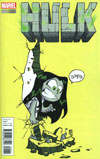 Hulk Vol 4 #1 Cover D Variant Skottie Young Baby Cover (Marvel Now Tie-In)