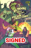Big Trouble In Little China Escape From New York #1 Cover G Regular Jack Burton Foreground Cover Signed By Greg Pak (Limit 1 Per Customer)