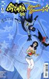 Batman 66 Meets Wonder Woman 77 #1 Cover A Regular Michael Allred Cover