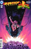 Justice League Power Rangers #1 Cover B Variant Dan Hipp Batman Pink Ranger Cover