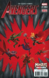 Avengers Vol 6 #1.MU Cover A Regular David Nakayama Cover (Monsters Unleashed Tie-In)