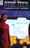 Star Trek Boldly Go #4 Cover B Variant Tony Shasteen Subscription Cover