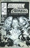 Star Trek Green Lantern Vol 2 Stranger Worlds #2 Cover B Variant Angel Hernandez Artists Edition Cover