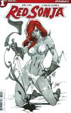 Red Sonja Vol 7 #1 Cover B Variant J Scott Campbell Cover