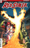Red Sonja Vol 7 #1 Cover F Variant Mel Rubi Subscription Cover