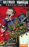 Batman Teenage Mutant Ninja Turtles Adventures #2 Cover E DF Exclusive Ken Haeser Variant Cover
