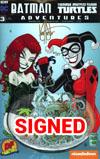 Batman Teenage Mutant Ninja Turtles Adventures #3 Cover E DF Exclusive Ken Haeser Variant Cover Signed By Ken Haeser
