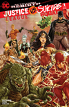 Justice League vs Suicide Squad #1 Cover B Midtown Exclusive Mark Brooks Connecting Variant Part 1 Cover