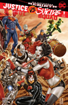 Justice League vs Suicide Squad #1 Cover C Midtown Exclusive Mark Brooks Connecting Variant Part 2 Cover