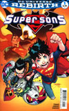 Super Sons #1 Cover A 1st Ptg Regular Jorge Jimenez Cover