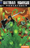 Batman Teenage Mutant Ninja Turtles Adventures #4 Cover A Regular Jon Sommariva Cover