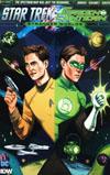 Star Trek Green Lantern Vol 2 Stranger Worlds #3 Cover B Variant Sandra Lanz Subscription Cover