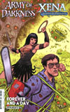 Army Of Darkness Xena Forever And A Day #5 Cover A Regular Kyle Strahm Cover
