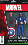 Avengers Vol 6 #4.1 Cover B Variant John Tyler Christopher Action Figure Cover