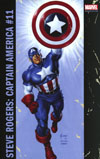 Captain America Steve Rogers #11 Cover B Variant Joe Jusko Corner Box Cover