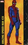 Amazing Spider-Man Vol 4 #24 Cover B Variant Joe Jusko Corner Box Cover (Clone Conspiracy Tie-In)