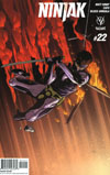 Ninjak Vol 3 #22 Cover D Incentive Clayton Henry Variant Cover