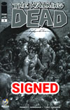 Walking Dead #1 Cover Z-I Wizard World Comic Con Minneapolis VIP Exclusive Clayton Crain Sketch Variant Cover Signed By Clayton Crain
