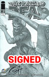 Walking Dead #1 Cover Z-K Wizard World Comic Con Cleveland VIP Exclusive Greg Horn Sketch Variant Cover Signed By Greg Horn