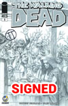 Walking Dead #1 Cover Z-W Wizard World Comic Con Fort Lauderdale VIP Exclusive Julian Tedesco Sketch Variant Cover Signed By Julian Tedesco
