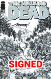 Walking Dead #1 Cover Z-Y Wizard World Comic Con Austin VIP Exclusive Moritat Sketch Variant Cover Signed By Moritat