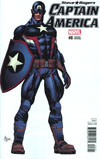 Captain America Steve Rogers #8 Cover B Incentive Mike Deodato Jr Teaser Variant Cover