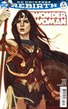 Wonder Woman Vol 5 #18 Cover B Variant Jenny Frison Cover