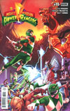 Mighty Morphin Power Rangers (BOOM Studios) #13 Cover A Regular Jamal Campbell Cover