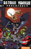 Batman Teenage Mutant Ninja Turtles Adventures #5 Cover B Variant Gabriel Rodriguez Subscription Cover