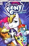My Little Pony Friendship Is Magic Deviations One Shot Cover A Regular Agnes Garbowska Cover