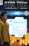 Star Trek Boldly Go #6 Cover B Variant Tony Shasteen Subscription Cover