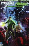 Star Trek Green Lantern Vol 2 Stranger Worlds #4 Cover A Regular Angel Hernandez Cover