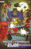 Tranformers vs GI Joe Movie Adaptation Cover A Regular Tom Scioli Cover