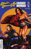 Wonder Woman 77 Meets The Bionic Woman #4 Cover A Regular Cat Staggs Cover