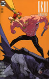 Dark Knight III The Master Race #8 Cover E Incentive Riley Rossmo Variant Cover