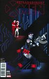 Extraordinary X-Men #18 Cover B Incentive Jeffrey Veregge Variant Cover (Inhumans vs X-Men Tie-In)