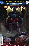 Batman Vol 3 #22 Cover B Variant Jason Fabok Non-Lenticular Cover (The Button Part 3)