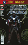 Captain America Steve Rogers #16 Cover A Regular Daniel Acuna Cover (Secret Empire Prelude)