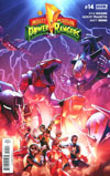 Mighty Morphin Power Rangers (BOOM Studios) #14 Cover A Regular Jamal Campbell Cover