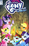 My Little Pony Legends Of Magic #1 Cover B Variant Zachary Sterling Subscription Cover